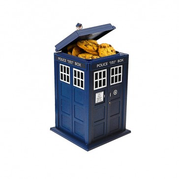 Bush Baby Tardis Cookie Jar 30 Hours 16GB