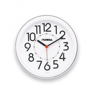 Bush Baby White Clock 10 Hours