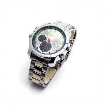 Silver Watch with Night Vision 8GB