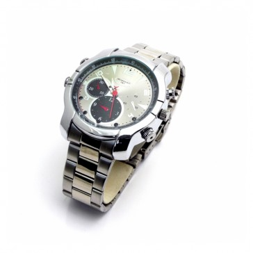 Silver Watch with Night Vision 4GB