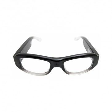 Stylish Clear Lens Glasses Camera