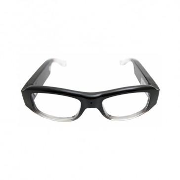 Stylish Clear Lens Glasses Camera
